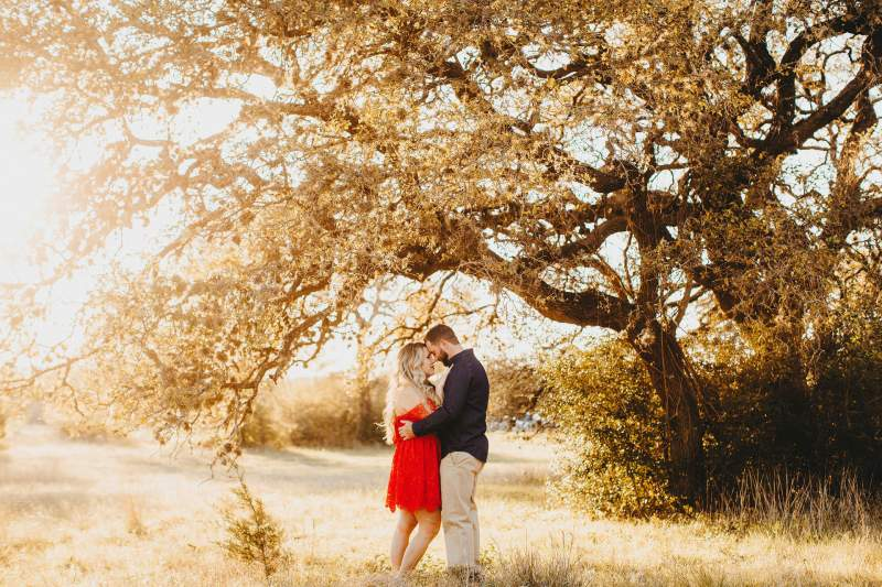 East Side Austin Engagement Photos circle c park hillcountry wedding