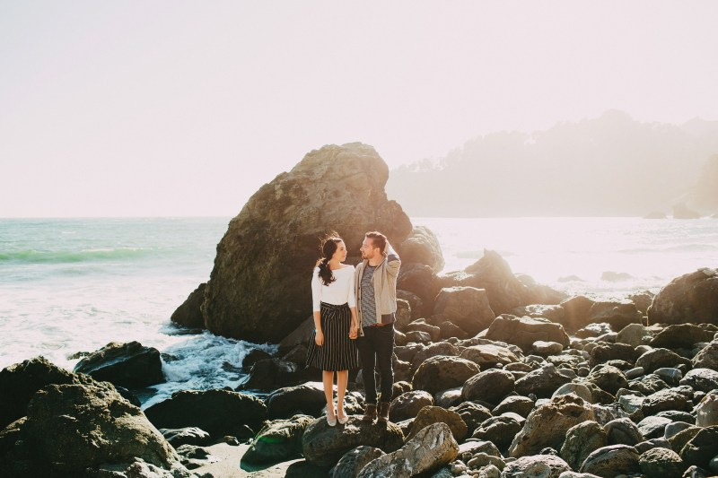 Sean Berry Photography Mount Tamalpais San Francisco California Engagement Session
