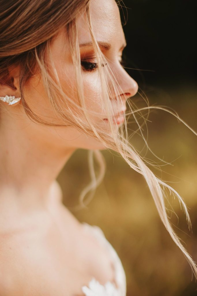 Austion Bridal photography field nature golden hour sun ashley haddock