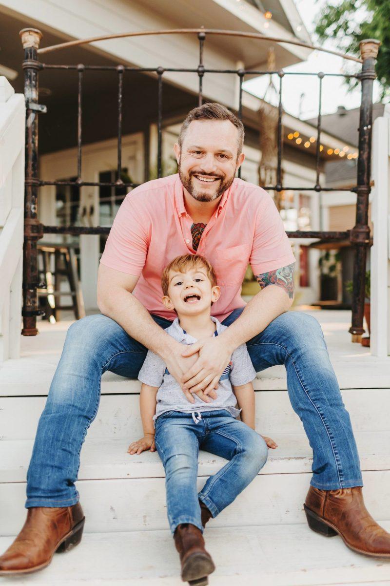 Dallas Family Photographers bishop arts district wild detectives