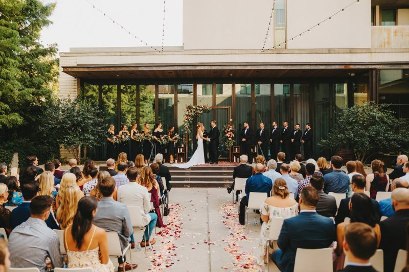 austin outdoor wedding ceremony ideas