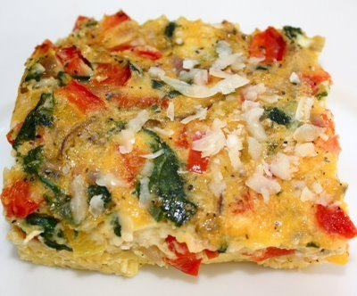 Recipe for Egg Vegetable Casserole