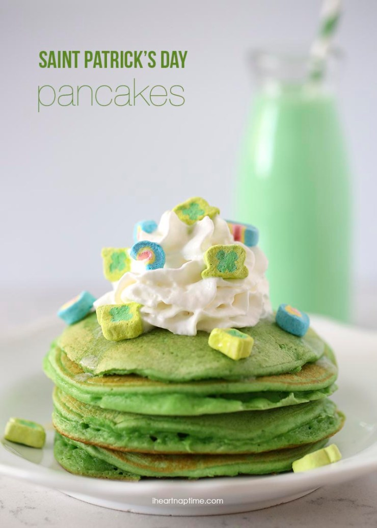 Saint-Patricks-Day-green-pancakes