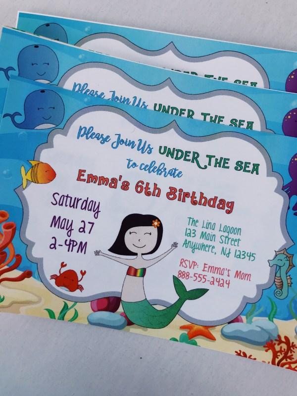 Under Sea the Invitation