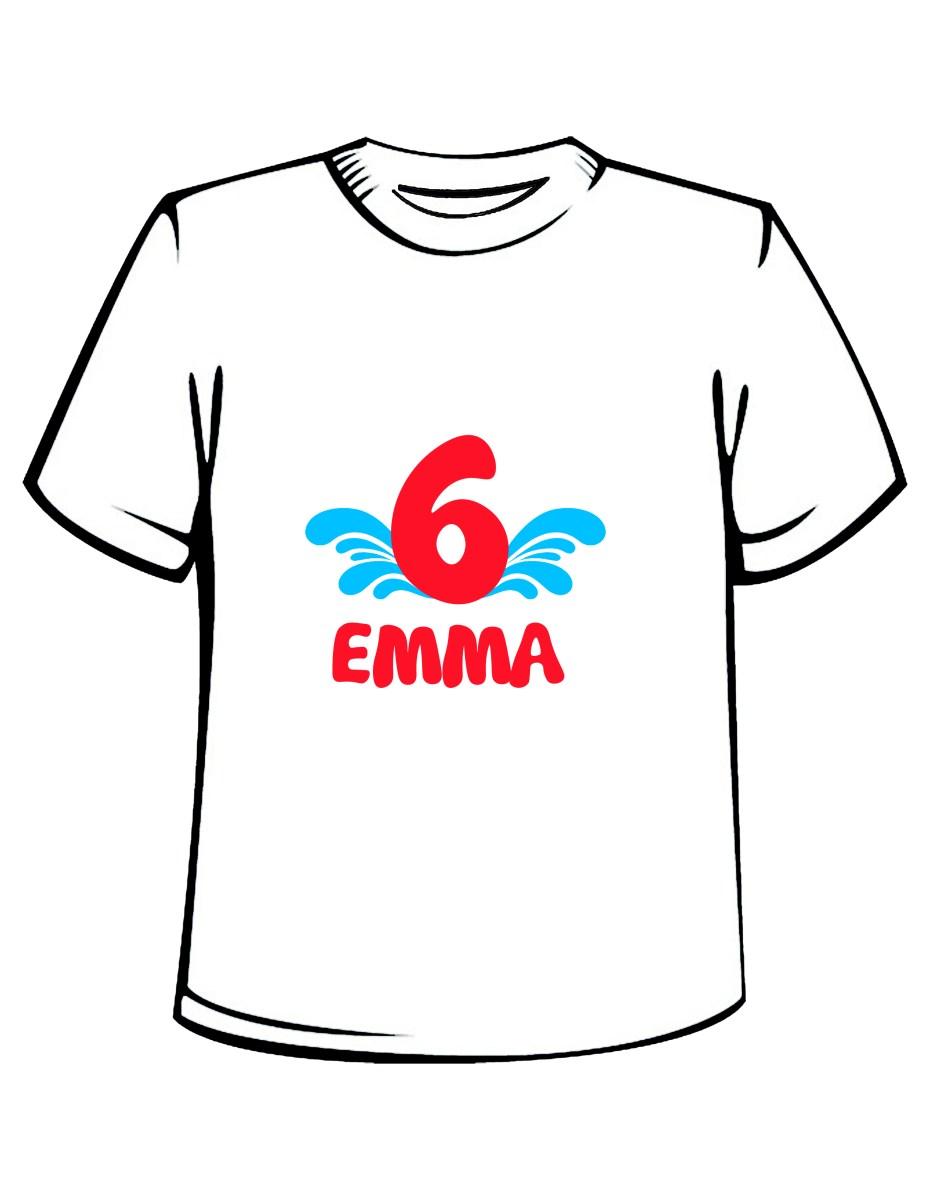 Pool Party Birthday T-Shirt