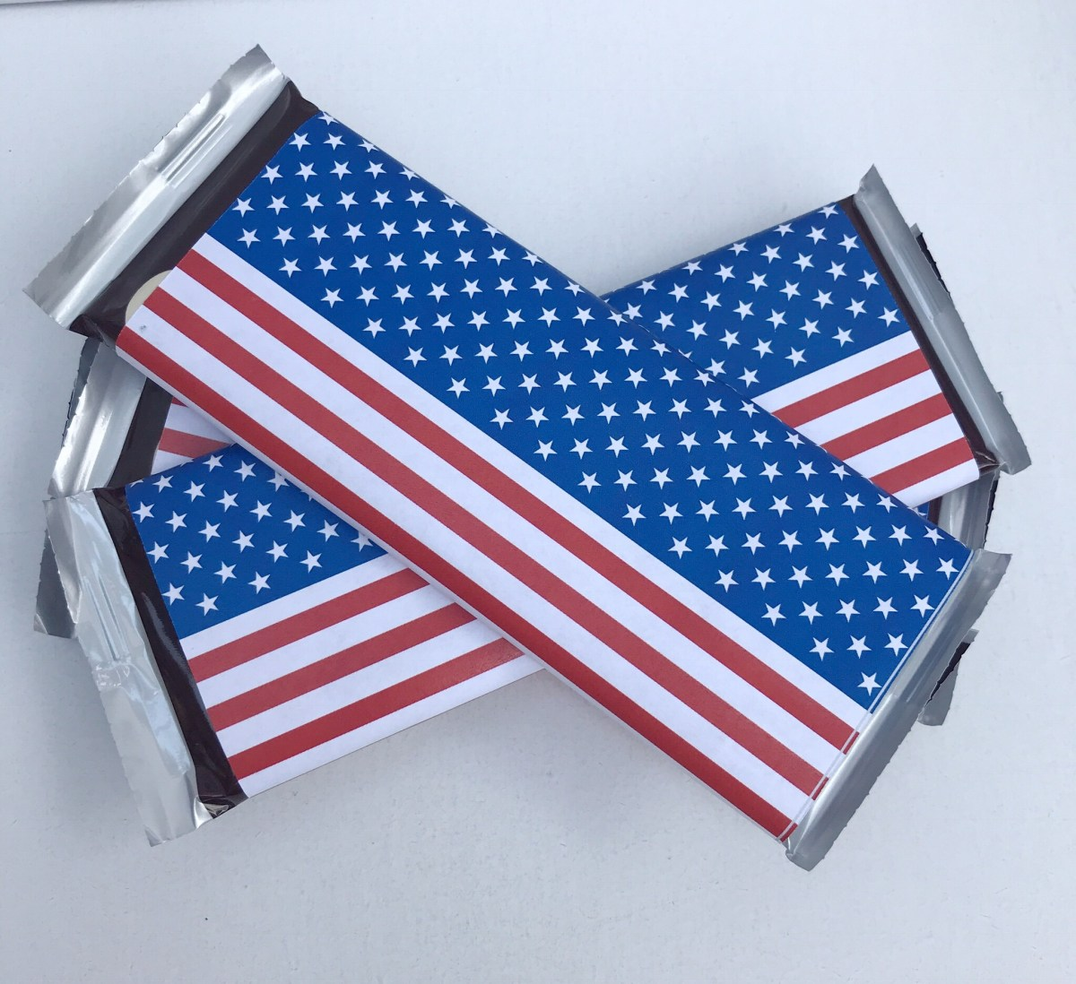 Flag Large Candy Bar Wrapper