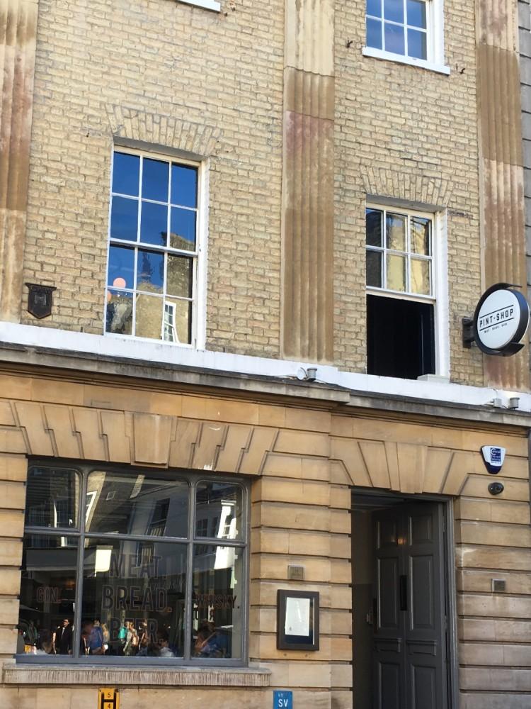 Pint shop Cambridge