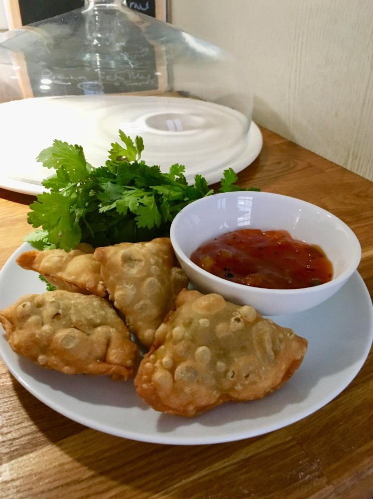 Vegetarian Samosa Ideas- Pea, Leek and Mint Recipe