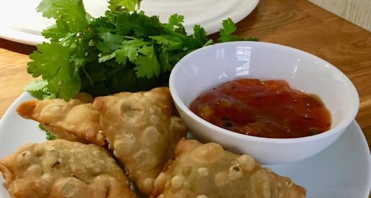 Vegetarian Samosa Ideas- Pea, Leek and Mint Recipe