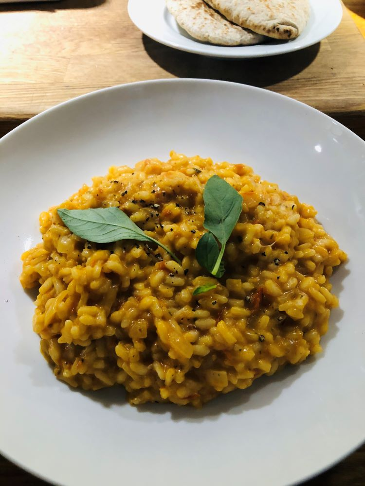 Mozzarella and Roasted Tomato Risotto Recipe