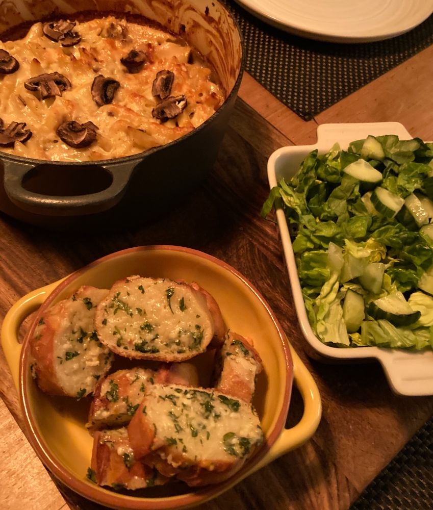 Meat-free Meals: Mushroom Mac and Cheese Recipe