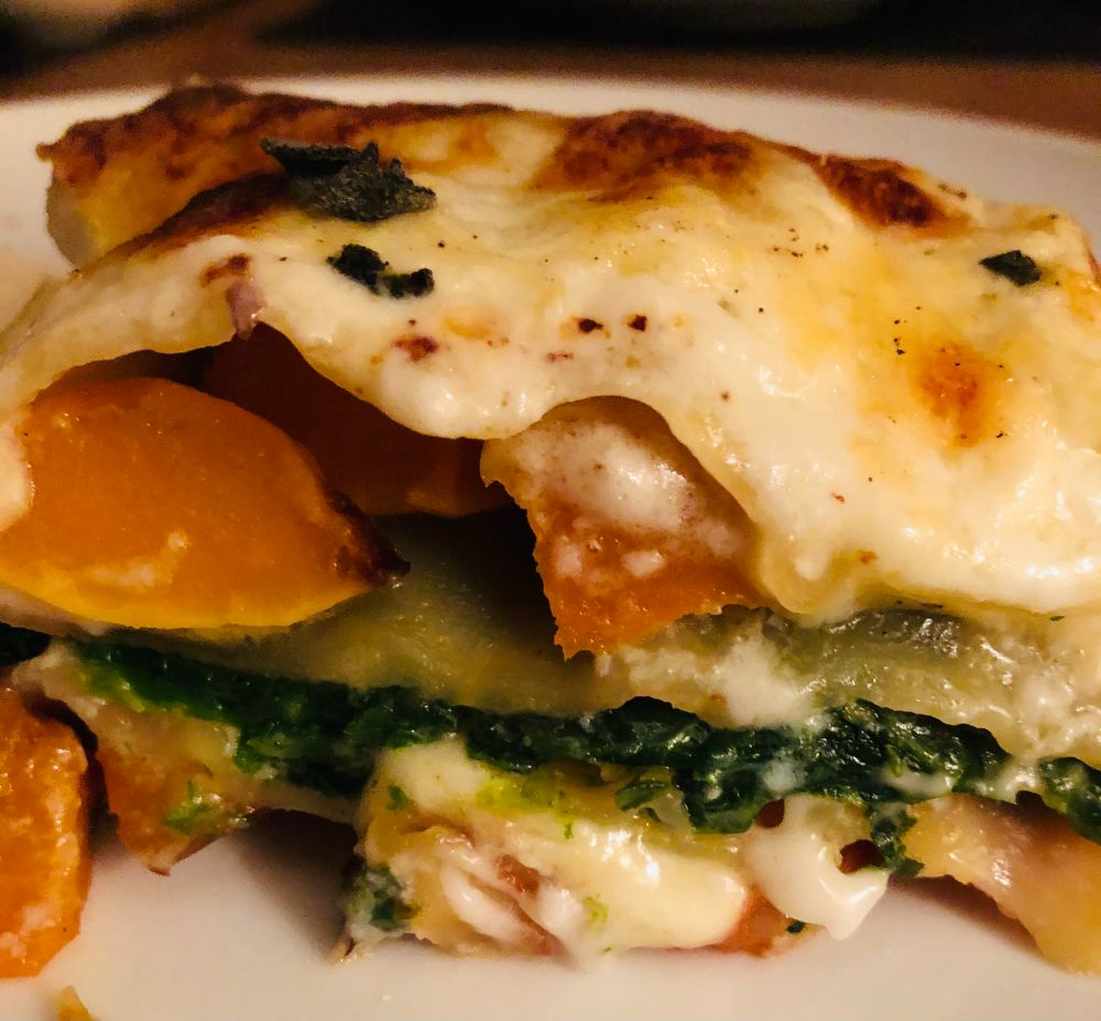 The Festive Menu- Veggie Christmas Lasagne Recipe