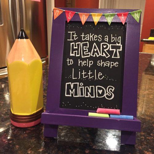 DIY Teacher Appreciation Gift | twoplusmeandyou.com