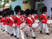 Marching bands at the Tivoli