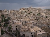The town of Matera - Southern Italy