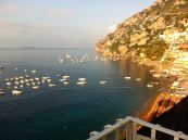 The glorious view of Amalfi