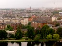 View of Copenhagen from our hotel