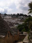 View of the Trulli homes in Alberobello