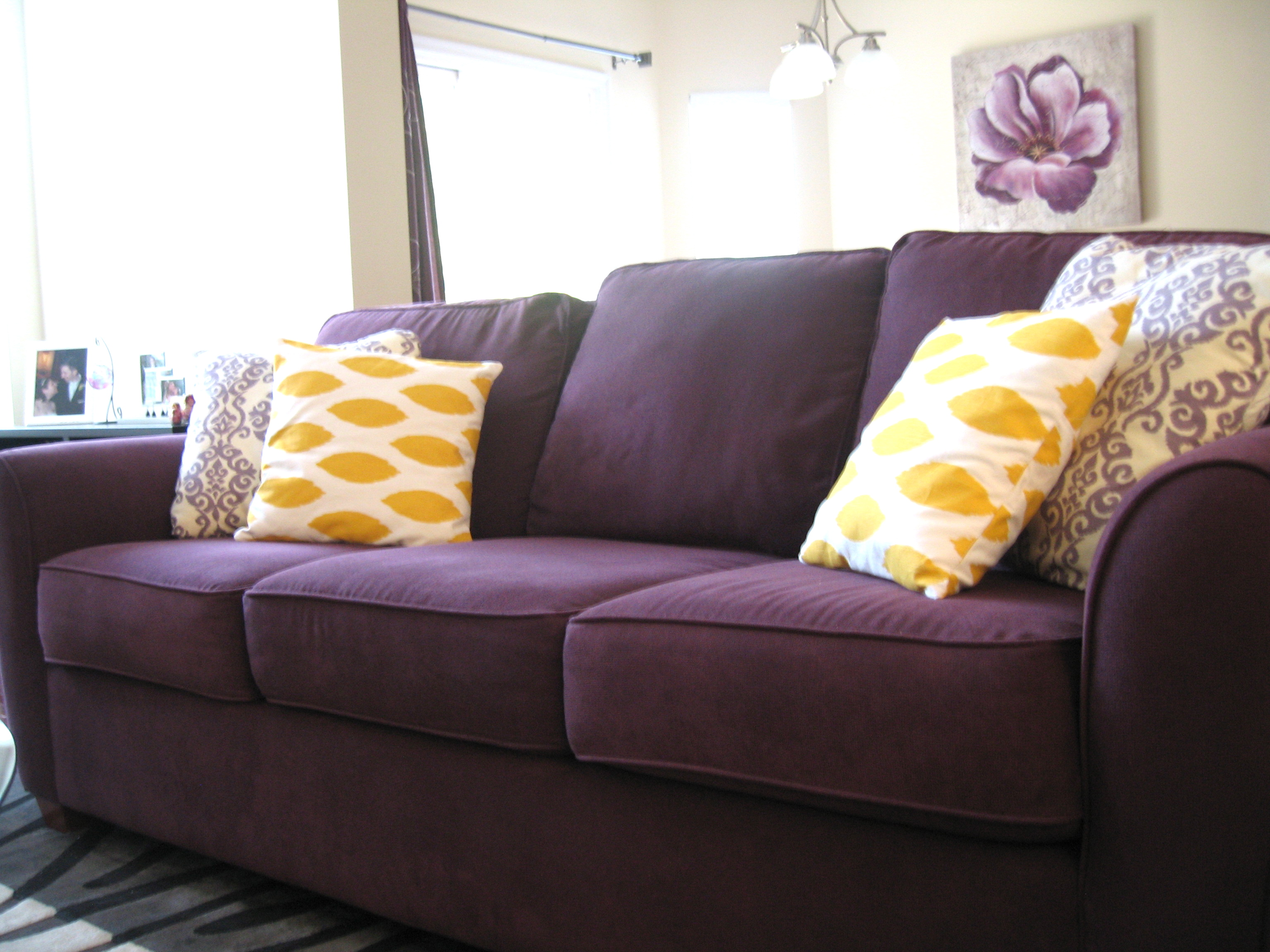 purple sofas modular sofa system couch garnitur lyon fabric archives two couches