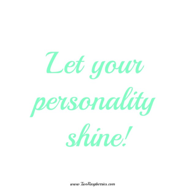 Let your personality shine inspiration plus a recipe for Pineapple Kiwi Nicecream! / TwoRaspberries.com