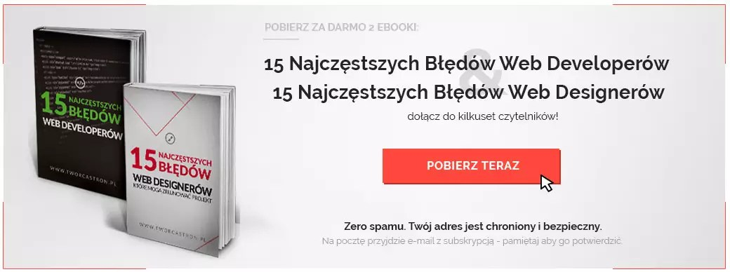 ebooks - 9 błędów web developera