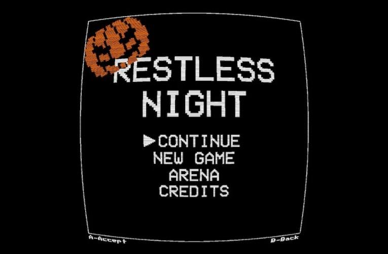 T Reviews- Restless night