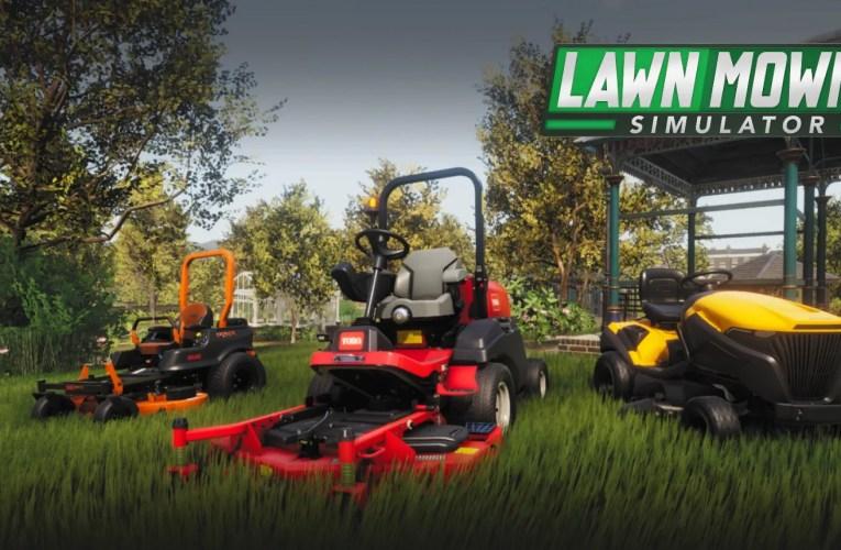 T Reviews, Lawn Mowing Simulator