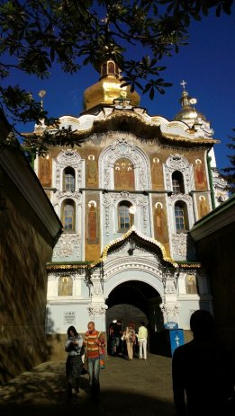Entrance to Lavra