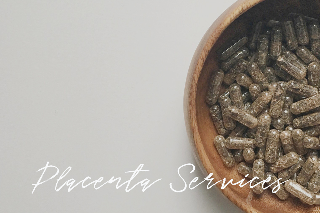 Placenta Encapsulation + Services header