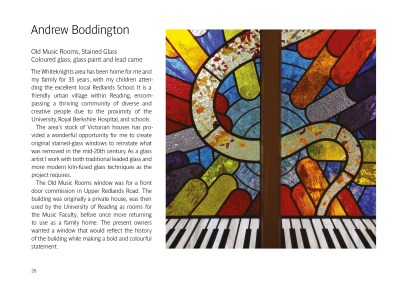 Andrew Boddington Old Music Rooms Stained Glass
