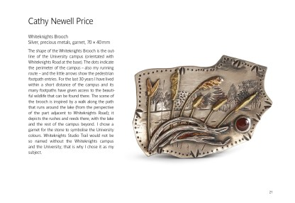 Cathy Newell Price, Whiteknights Brooch