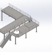 Leveled platform
