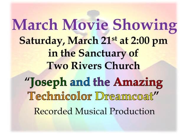 Joseph movie showing