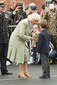 HRH The Duchess of Cornwall at DMS Whittington photographer by TWorld Studio Commercial Photographers