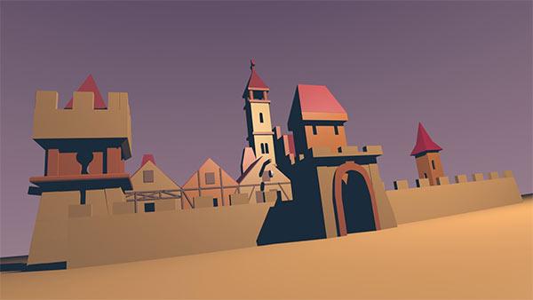 moje średniowieczne miasteczko
