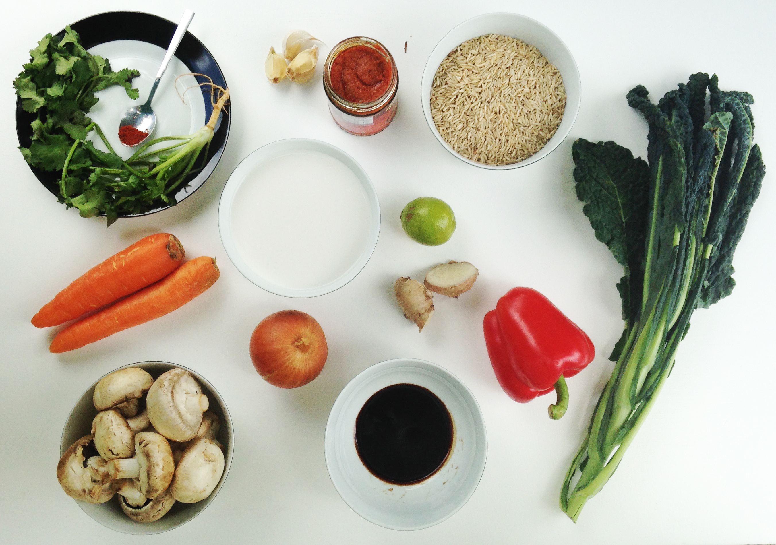 Thai Red Curry with Vegetables - Two Shakes of Happy