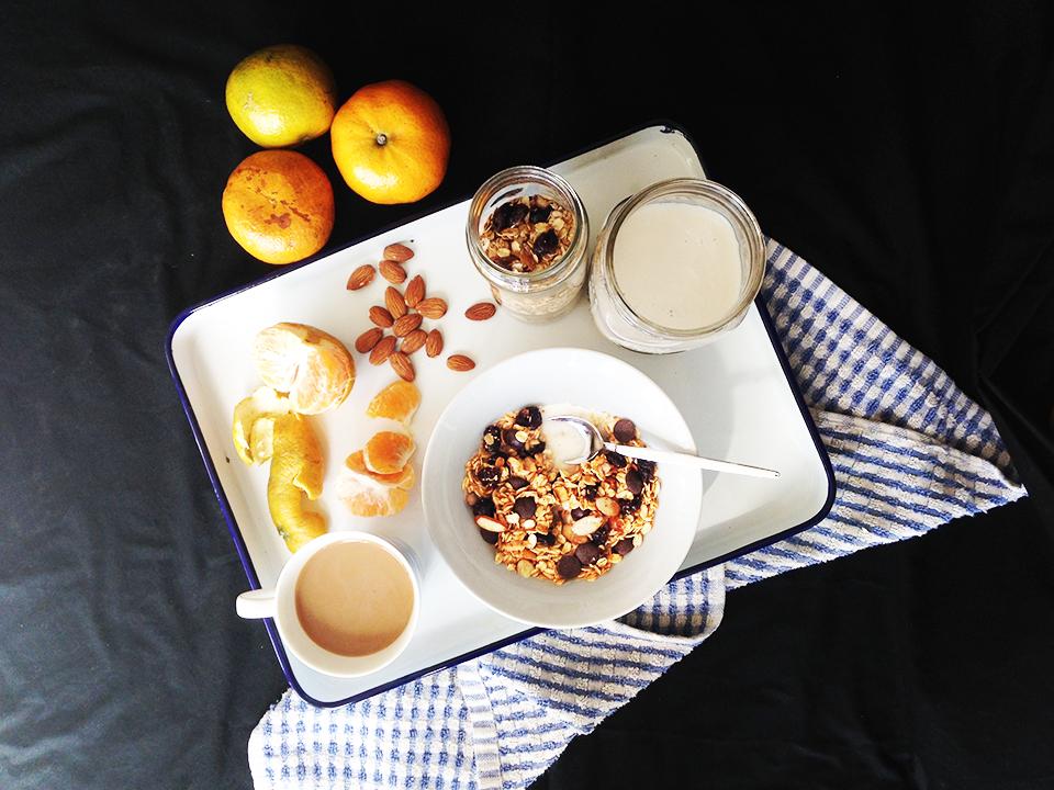 choc cherry almond muesli 7