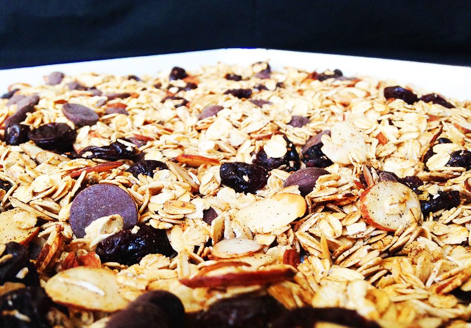 choc cherry almond muesli 9