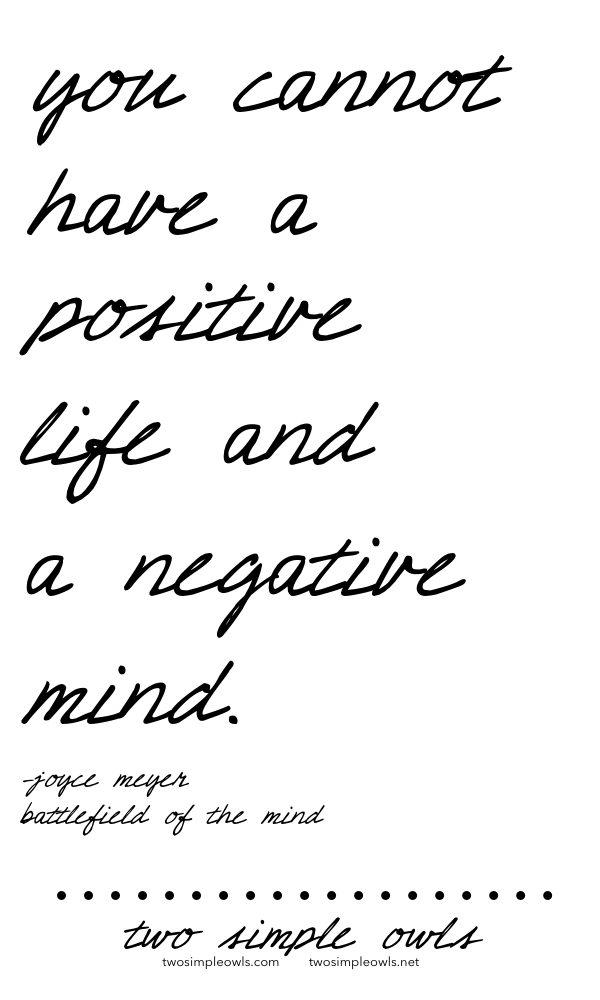 Positive or Negative?