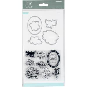 KaiserCraft Dies and Stamp Set DIY Cuts - FLORAL
