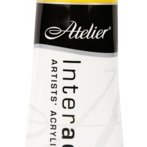 Atelier Interactive Artists Acrylic Paint 80ml-CADMIUM YELLOW MEDIUM Series 4