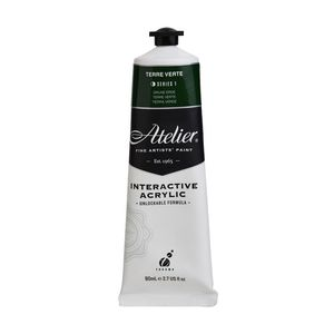 Atelier Interactive Artists Acrylic Paint 80ml- TERRE VERTE Series 1