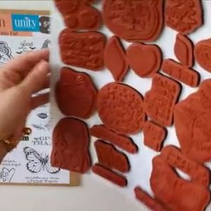 Un-Mounted Rubber Stamps