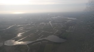 Preparing to land in Holland-The Netherlands