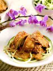 Slow Cooker Thai Chicken | Low Carb
