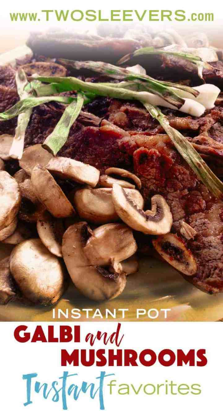 Homemade Korean Galbi Short Ribs are delicious and a family-favorite. Making them at home allows you to control the amount of sugar and additives.