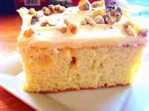 sugar free cardamom cake