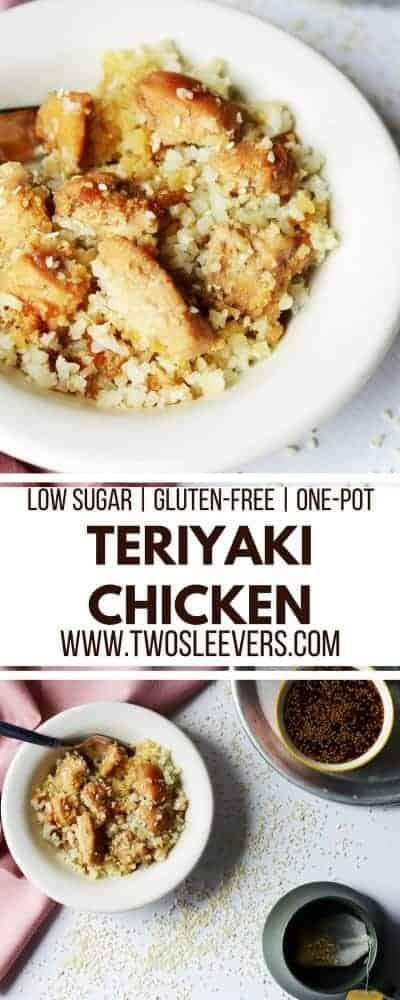 Teriyaki Chicken | One Pot Meal | One Pot Chicken Teriyaki | Teriyaki Chicken Recipe | Easy Teriyaki Chicken | Low Sugar Teriyaki Chicken | Chicken Dinner Recipe | Two Sleevers #teriyakichicken #chickendinner #onepotmeal