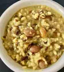 Khichadi Rice and Lentils   Pressure Cooker Recipe