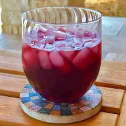 Pressure Cooker Agua De Jamaica Hibiscus Tea